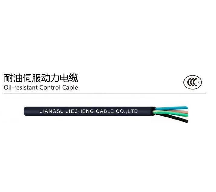 耐油伺服动力电缆